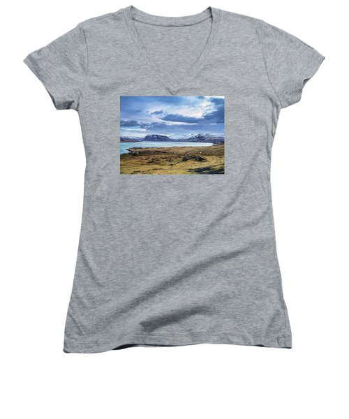 Icelandic Blues Women's V-Neck