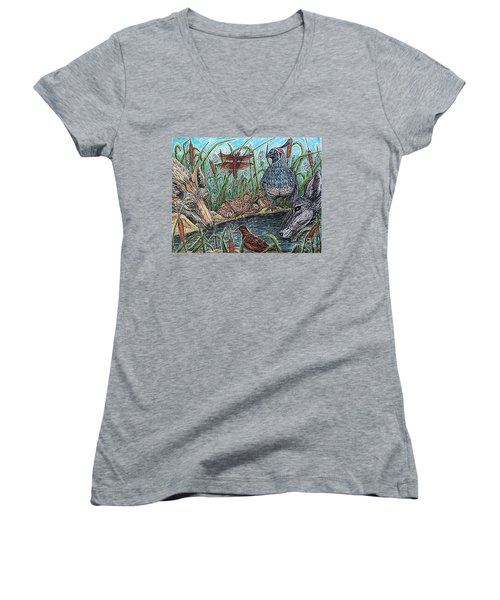 If They Can Share..? Women's V-Neck