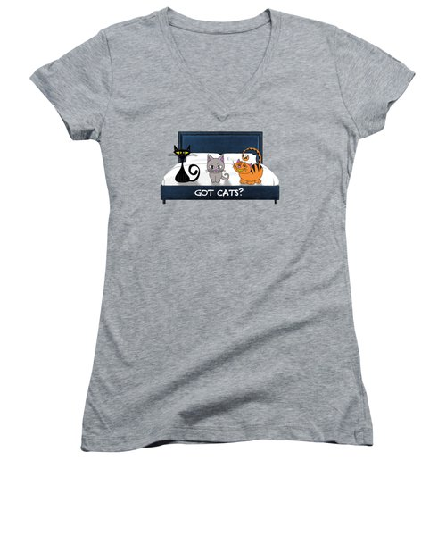 If You Have Cats Women's V-Neck