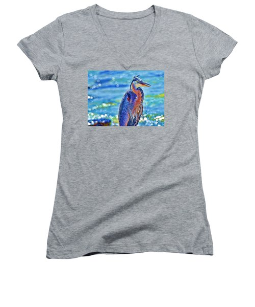 I'm A Colorful Guy Women's V-Neck (Athletic Fit)