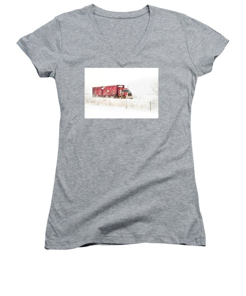 I'm Coming Home Women's V-Neck (Athletic Fit)