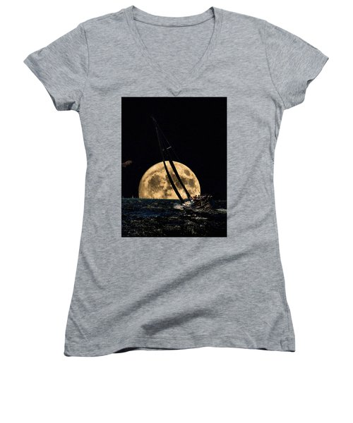 I'm Getting Closer To My Home Women's V-Neck