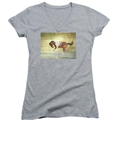 Image 1 Women's V-Neck T-Shirt