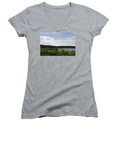 Images From Maine 2 Women's V-Neck T-Shirt