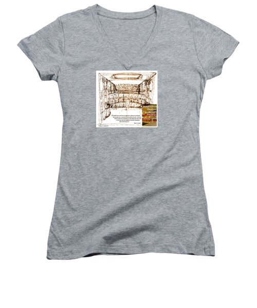 Imaginitive Genius Women's V-Neck T-Shirt