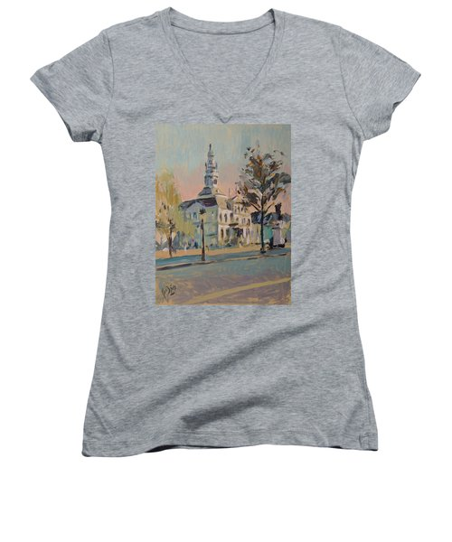 Impression Soleil Maastricht Women's V-Neck T-Shirt (Junior Cut)