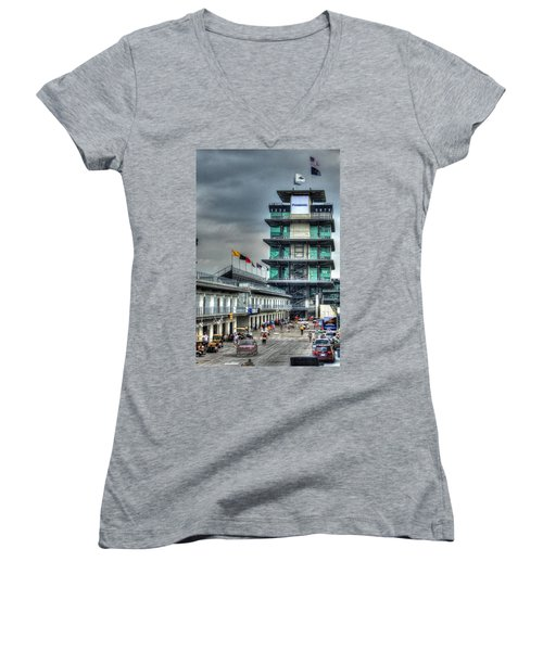 Ims Pagoda Women's V-Neck (Athletic Fit)
