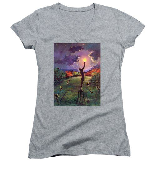 In Balance Women's V-Neck