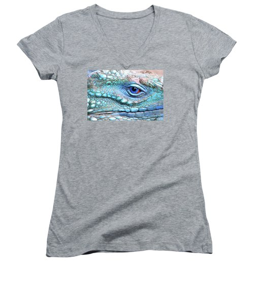 In His Eye Women's V-Neck (Athletic Fit)