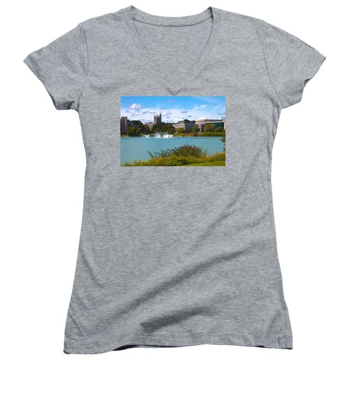 In The Afternoon Women's V-Neck