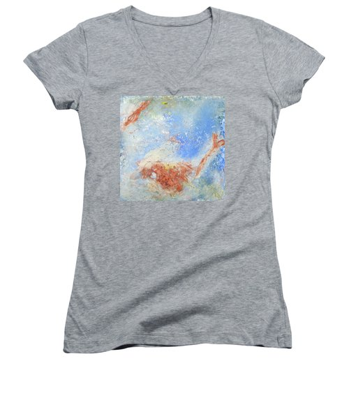 In The Beginning Women's V-Neck