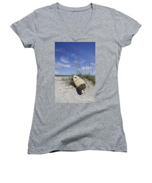 In The Dunes Women's V-Neck T-Shirt