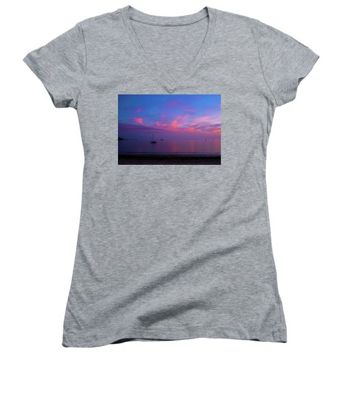 In The Gloaming Women's V-Neck (Athletic Fit)