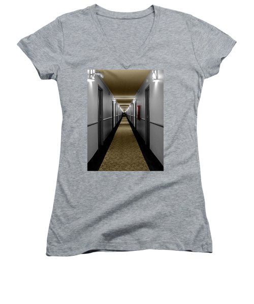 In The Long Hall Women's V-Neck (Athletic Fit)
