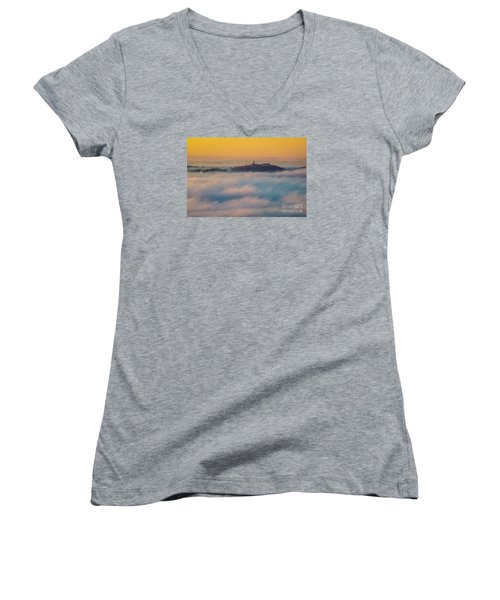 In The Mist 3 Women's V-Neck