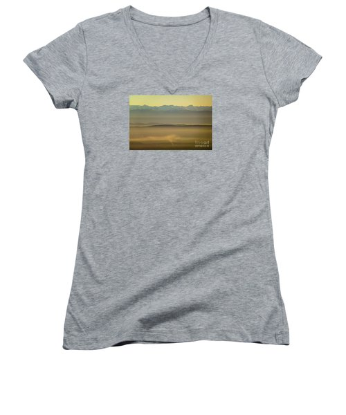 In The Mist 5 Women's V-Neck