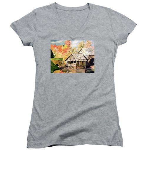 In The Quiet Moments Women's V-Neck T-Shirt