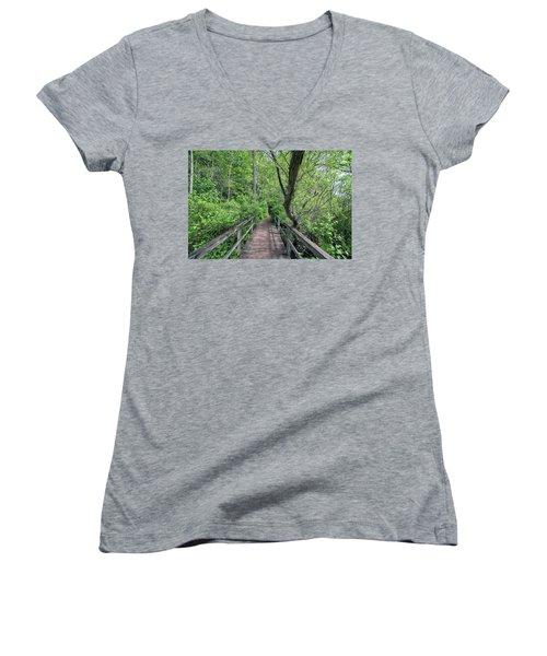 In The Trees Women's V-Neck