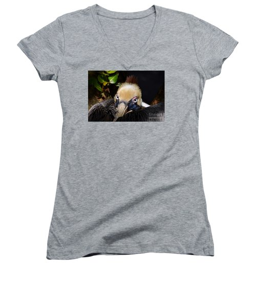 In Your Watch Women's V-Neck (Athletic Fit)