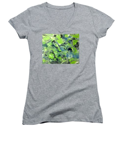 Inabstraction - Gbwb No.1 Women's V-Neck T-Shirt