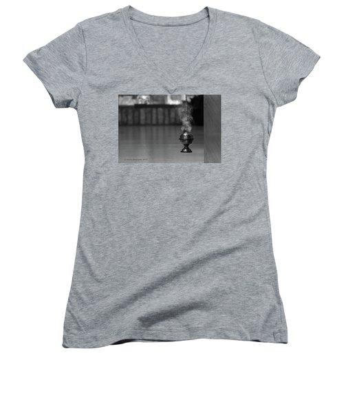 Incense Women's V-Neck T-Shirt