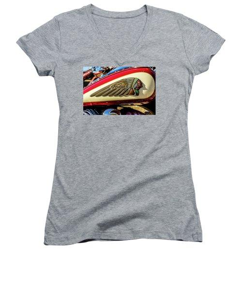 Indian Tank Women's V-Neck T-Shirt