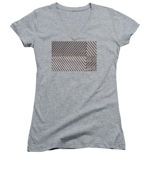 Industrial Diamonds Women's V-Neck T-Shirt