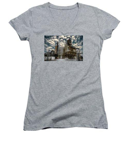 Industrial Disease Women's V-Neck T-Shirt