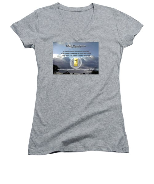 Infinite Opportunities Women's V-Neck