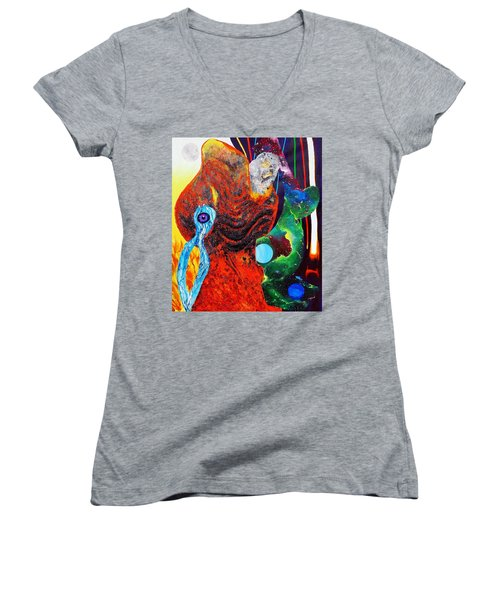 Infinite Women's V-Neck T-Shirt