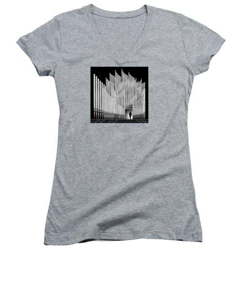 Inspirational Walk Women's V-Neck T-Shirt