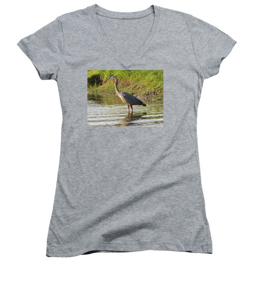 Intense Fishing Women's V-Neck T-Shirt