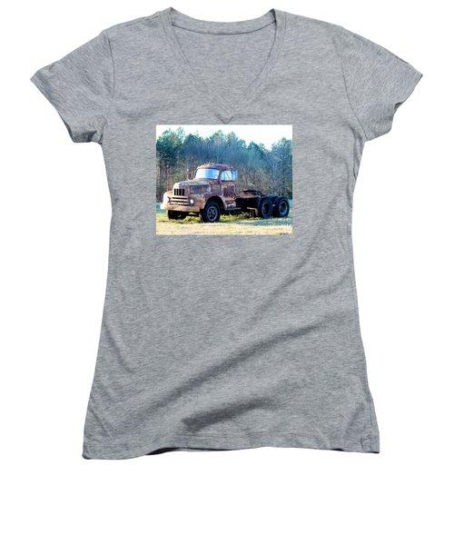International Harvester R200 Series Truck Women's V-Neck (Athletic Fit)