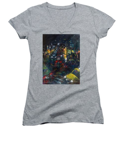 Intersection Women's V-Neck T-Shirt