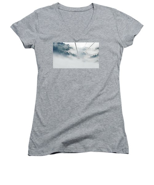 Into The Abyss Women's V-Neck