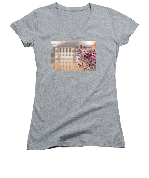 Into The Asters Women's V-Neck