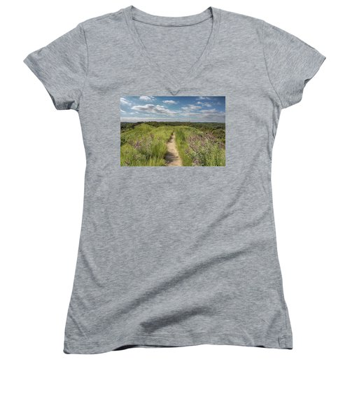 Into The Loess Hills Women's V-Neck