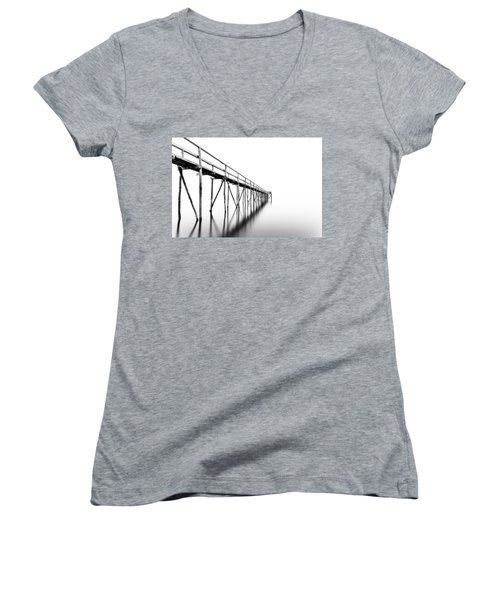 Into The Nowhere Women's V-Neck T-Shirt