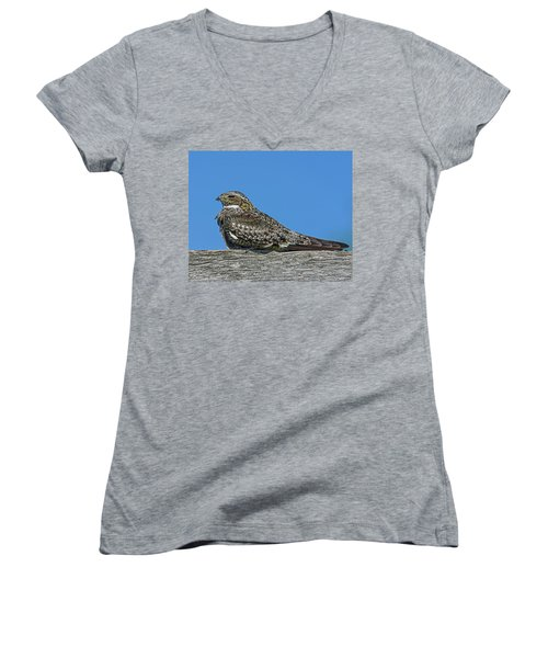 Women's V-Neck T-Shirt (Junior Cut) featuring the photograph Into The Out by Tony Beck