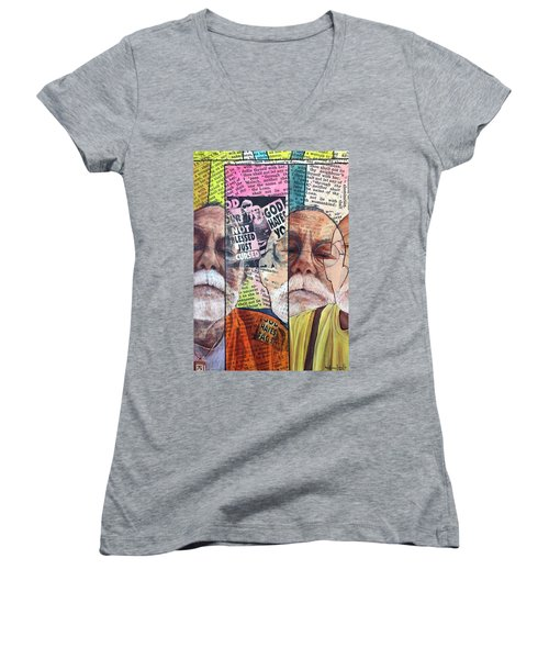 Introduction To Life, A Self Portrait Women's V-Neck (Athletic Fit)