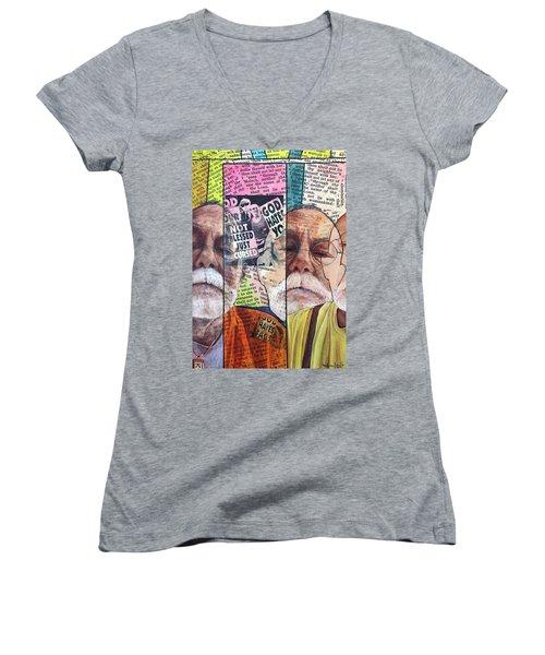 Introduction To Life, A Self Portrait Women's V-Neck T-Shirt