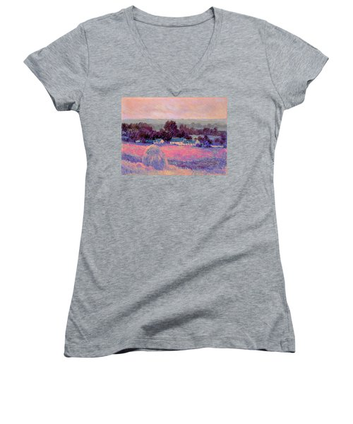 Inv Blend 10 Monet Women's V-Neck T-Shirt