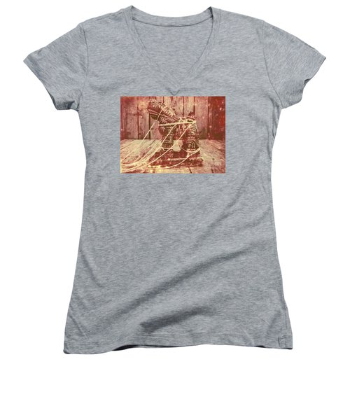 Invasion In Ancient History Women's V-Neck
