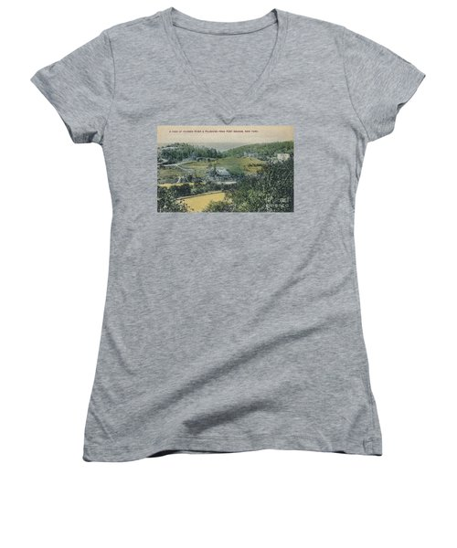 Inwood Postcard Women's V-Neck (Athletic Fit)