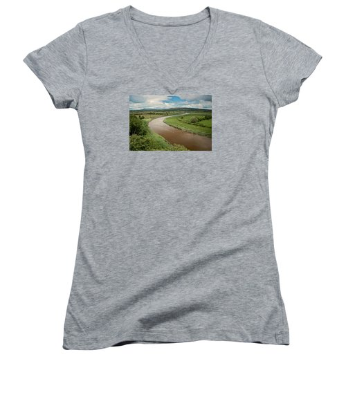 Ireland River Women's V-Neck T-Shirt