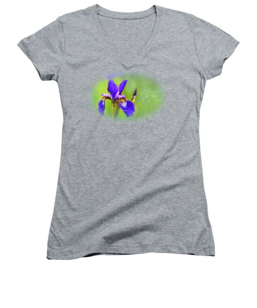 Iris Elegance Women's V-Neck (Athletic Fit)