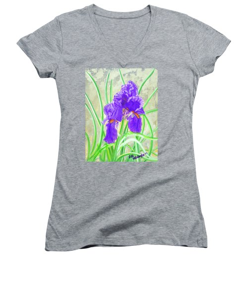 Iris Hope Women's V-Neck T-Shirt