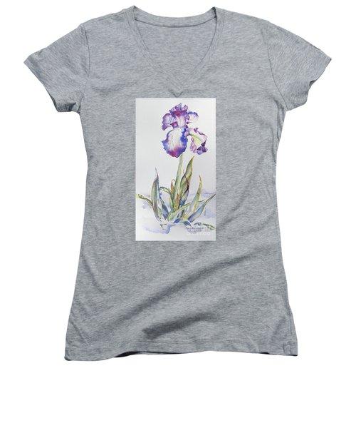 Iris Passion Women's V-Neck