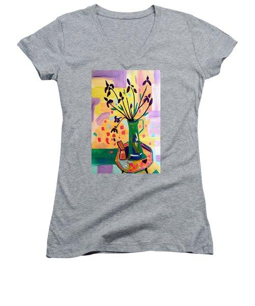 Iris Spring Women's V-Neck