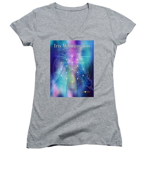 Iris Whittington Women's V-Neck T-Shirt